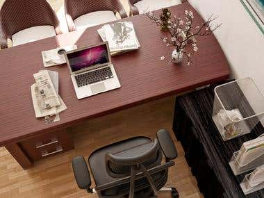 Office interior design at salem