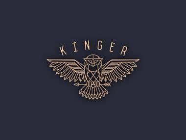 Kinger Coffee brand logo