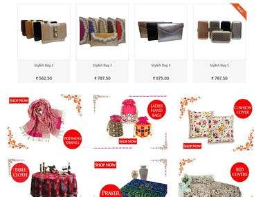 Prestashop Website - Kashmiri Collection Store