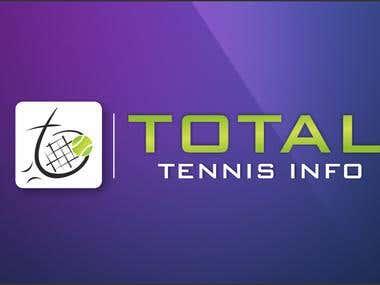 Logo Design For Total Tennis Info