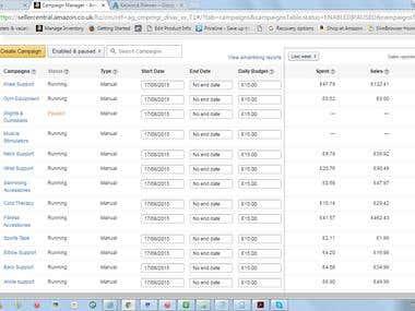 Amazon PPC,ebay,google and facebook ppc