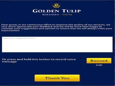 Golden Tulip Guest Comment