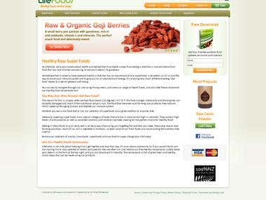Life Foods - eCommerce (Magento)