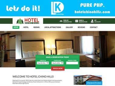 hotelchinohills.com - Pure PHP