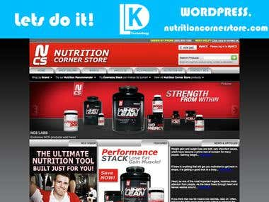 nutritioncornerstore.com - Wordpress