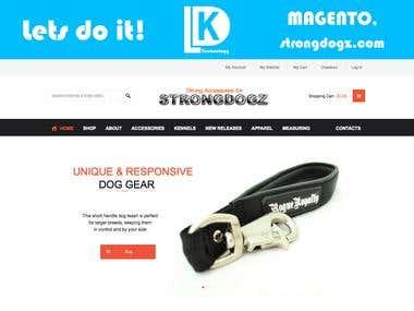 strongdogz.com - Magento
