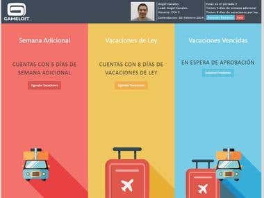Vacations Management Tool