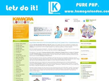 www.kamagralondon.com - Pure PHP