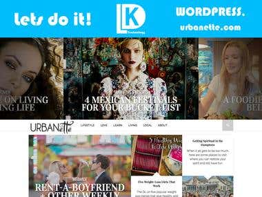 urbanette.com - Wordpress