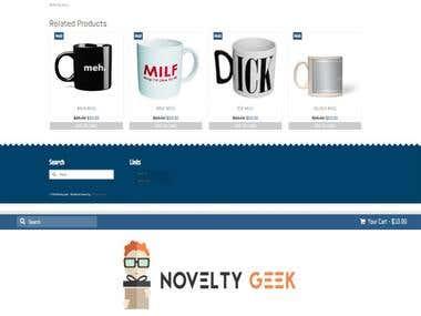 Web Shop Design