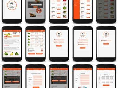 Food E commerce APP