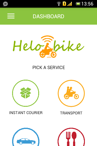 HeloBike Android App