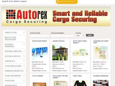 Import/Export directory