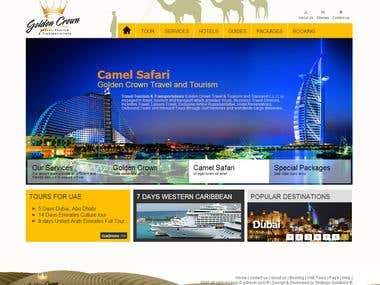 An Interactive Travel Portal with CMS