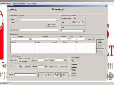 Purchase Order and Quotation Management Software