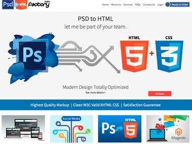 PSDtoHTMLFactory.com