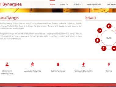 Kunjal Synergies Website