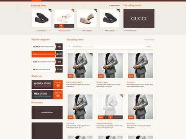E Commerce WebSite