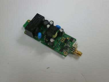 Telemetry & LED LIGHT driver, wireless controller