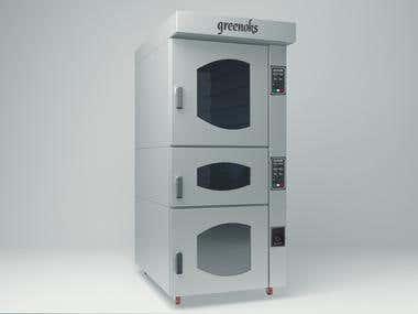 Industrial Design - Endüstriyel Fırın Tasarımı