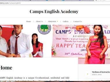 Camps English Academy