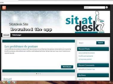 Sitatdesk Ecommerce Site