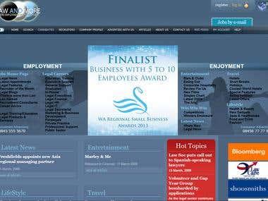 Employment Website