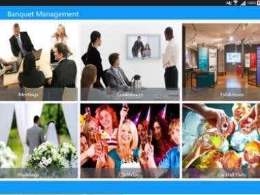 Banquet Management App