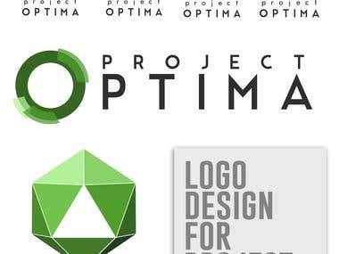 Project Optima Logo Design