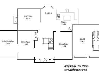 Floorplans and charts