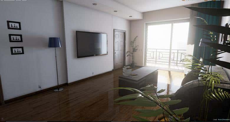 3D interior rendering   Freelancer