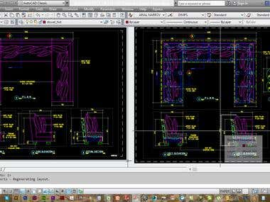 CAD DRAWINGS - Furnitures
