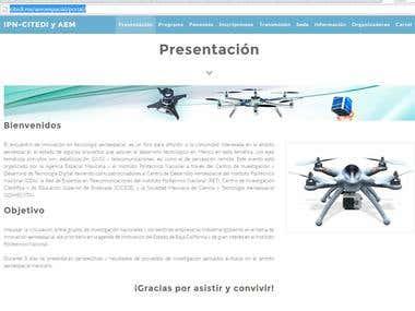 Portal Encuentro de innovación en tecnología aeroespacial
