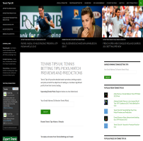 Tennis Tips - A wordpress implementation