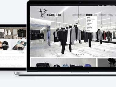 Caribou -  brand clothes online store.