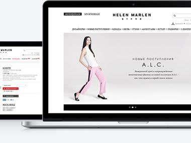 Helen Marlen online store - brand clothes