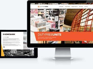 DUTYFREEUNIT - our first duty free store