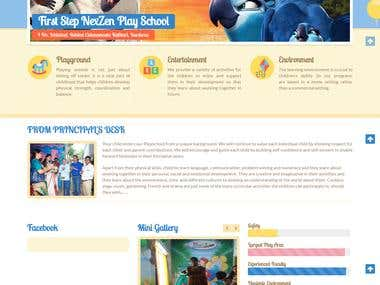 PLAY SCHOOL WEBSITE