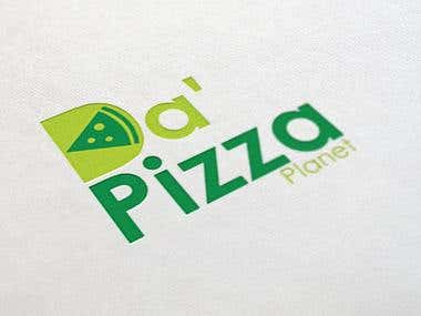 Pizza Planet Logo Design
