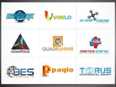Tech-Electronics-Logos