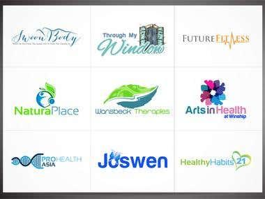 Medical & Health Logos