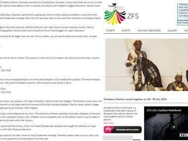 Zimbabwe Fashion Showcase Blog Article