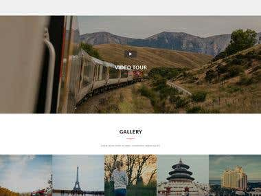 Safr - Tours and Travel Template