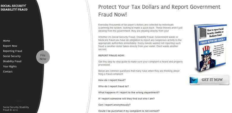 Social Security Disability Fraud Freelancer