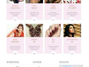 Atry's Beauty Clinic and Makeover Studio - A Joomla Website