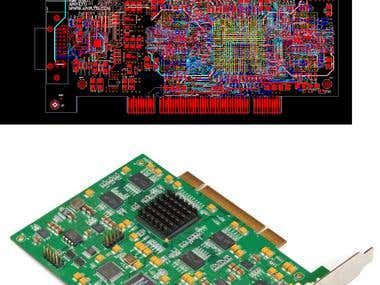 H.264 Encoder--PCI (PADs Layout+Actual Board on sale)