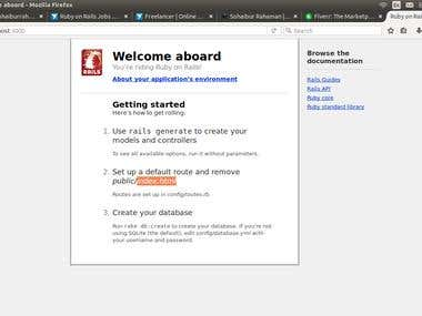 I can setup Ruby On Rails into any Linux VPS