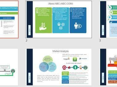 Powerpoint Presentation - summary of slides