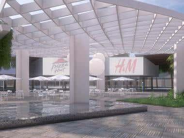 Architectural design, modelling, render, post-production I