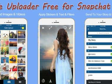 Safe Uploader Free for Snapchat